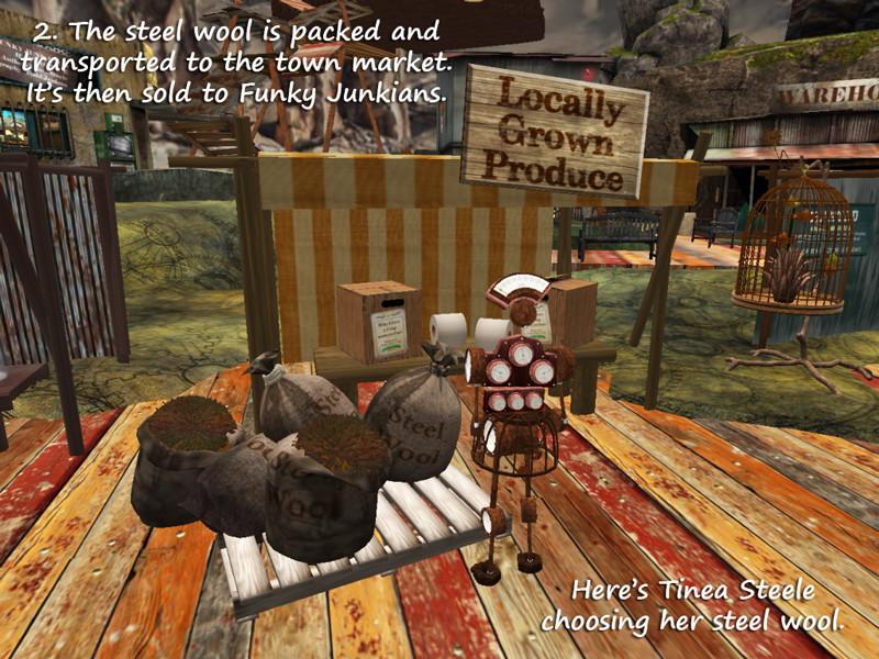 LEA 22 Funky Junk - local produce