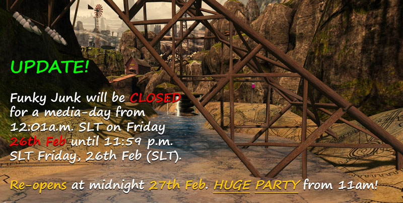 Funky Junk (LEA22) closed 26th FEB